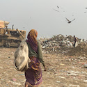 Dealing with Delhi's trash mountain