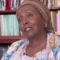 Edna Adan speaks in an interview