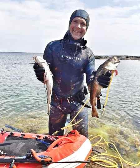 morten med torsk bornholm - Svømmeudstyr