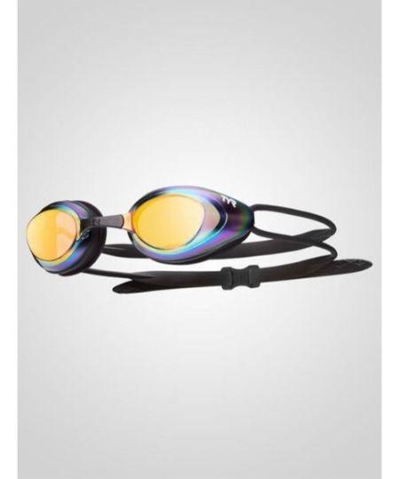 TYR Blackhawk Racing Mirrored Guld - Svømmeudstyr