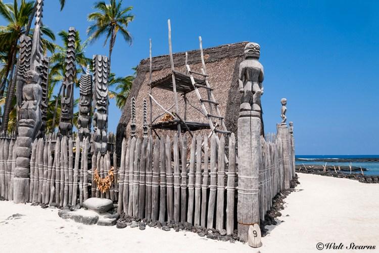 """Pu'uhonua o Honaunau, also known as the """"Royal Place of Refuge."""""""