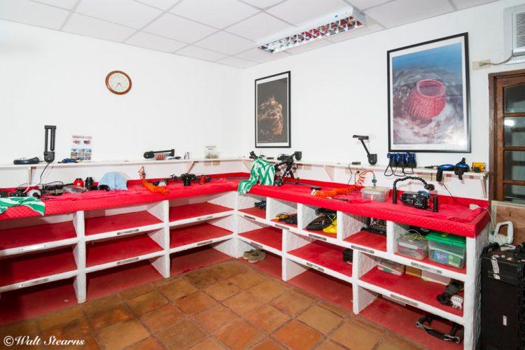 Camera Room at Atlantis Resort in Puerto Galera.
