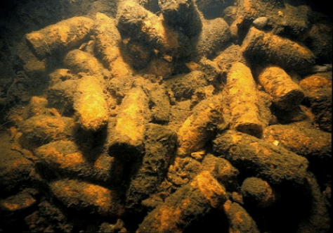 Staggering amounts of weapons dumped underwater, says expert