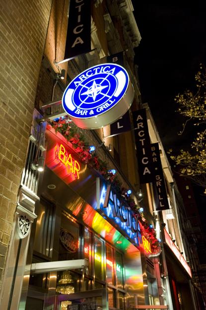 NYUPS Holiday Party At Arctica Bar & GRill in NYC  [© Jason Heller]