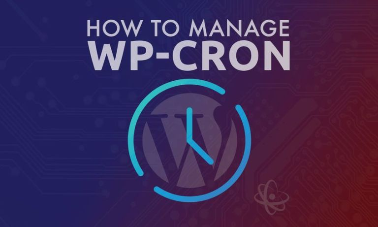 Manage Wordpress Cron