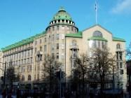 Wivi Lönn, Nueva Casa estudiantil (Ylioppilastalo) Helsinki-1910