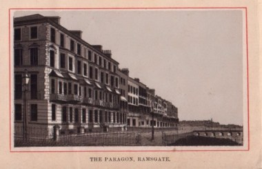 Mary Townley, The Paragon, Ramsgate
