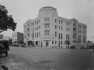 Margaret Pitt Morison con Oldham, Boas y Ednie-Brown, Hotel Adelphi, Perth, c.1936.
