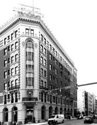 Louise Blanchard Bethune. Hotel Lafayette, fachada