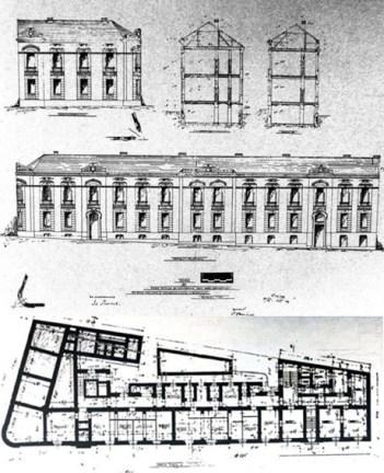 Jelisaveta Načić - Planos de la Vivienda Arsa Drenovac, Belgrado, 1907