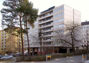 Léonie Geisendorf, Edificio Fyrtalet