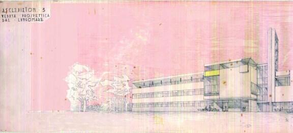 Egle Trincanato, Concorso per l'Ospedale al Mare del Lido di Venezia, 1946