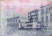 Egle Trincanato, Concurso. Hotel Danieli sulla Riva degli Schiavoni, 1947.