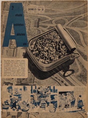 Lina Bo Bardi. A – Attualità, Architettura, Abitazione, Arte. 1949
