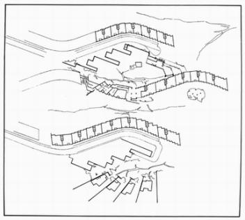 Elissa Aalto, Alvar Aalto, Elissa Aalto and Leonardo Mosso. Plan para la ciudad de Patricia, Pavia 1966-1968