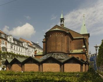 Estudio Exner, Ampliación Iglesia Sant Pauls, Dinamarca,1978