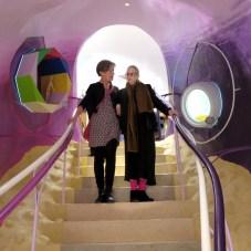 Madeline Gins y Shusaku Arakawa, Biotopological Scale-Juggling Escalator, 2013