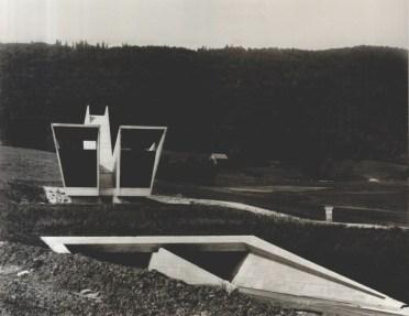 Flora Ruchat-Roncati y Renato Salvi, Estructuras de concreto en la Autopista Transjurana