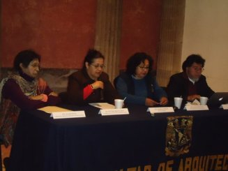 Lourdes García, Foro Política Habitacional