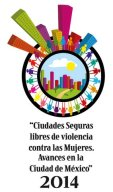 "Lourdes García Vázquez, Seminario Internacional ""Ciudades Seguras"" 2014"