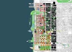 Diana Agrest y Mario Gandelsonas, Midtown Manhattan West Master Plan