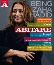 Zaha Hadid, portada Abitare