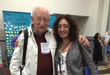 Ana Falú y Enrique Ortiz Flores