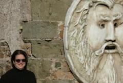 Beatriz del Cueto en Roma