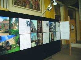 """Cristina García-Rosales, Exposición de """"La Mujer Construye"""" en Antiguo Acquario Romano. Ordine dei Architteti de Roma, Italia, 2003."""