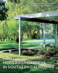 Pamela Burton, libro Private Landscapes, Modernist Gardens in Southern California