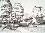 Clara De Buen Richkarday, Metro Línea A. Puentes Vehiculares