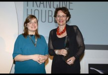 Francine Houben en la entrega del premio Mujer Arquitecta del Año 2014