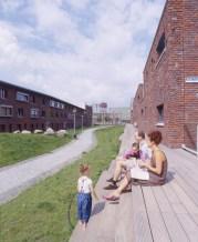 Francine Houben. Mecanoo. Plan Urbano para el área de Vondelparc