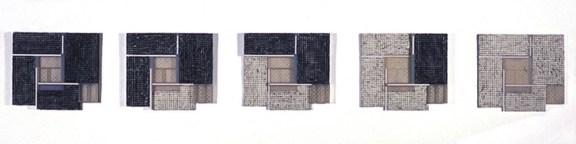 Magreet Duinker, 30-60 Waganeer Straat_Cheryl Goldsleger wax oil pigment resin on wood, 2003