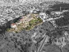 Imma Jansana. Restauración de las cumbres del Turó de la Rovira