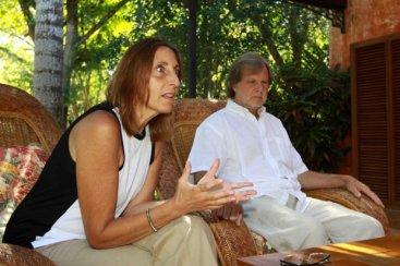 Mónica Bertolino y Carlos Barrado