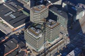 Lene Tranberg, Edificio Niagara, Universidad de Malmö,Lundgaard & Tranberg Arkitekter