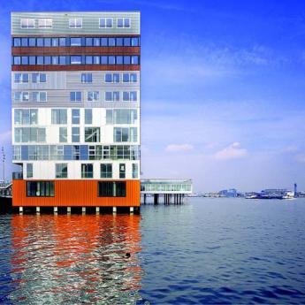 Nathalie de Vries, MVRDV, Silodam, Amsterdam, 2003.