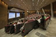 Laura Spinadel. Centro de Auditorios Campus Wu, Viena, Austria.