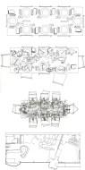 "Sarah Wigglesworth, Jeremy Till - cuatro dibujos: ""Modales en la mesa"", Straw Bale House"