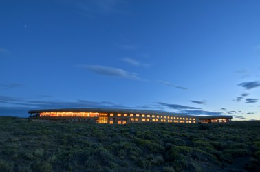 Cazú Zegers, Hotel Tierra Patagonia