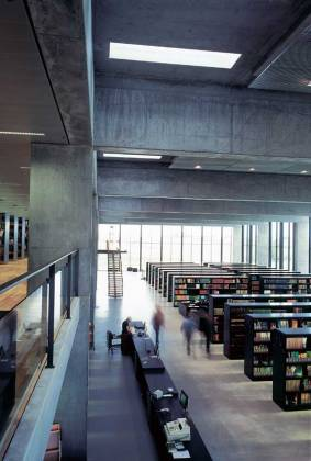 Mette Kynne Frandsen. Biblioteca de la Universidad de Roskilde. Henning Larsen Architects_2015