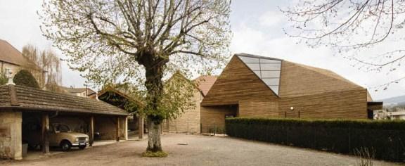 Pilar Calderon, Calderon-Folch-Sarsanedas Arquitectes, Léonce Georges Centre in Chauffailles, Francia