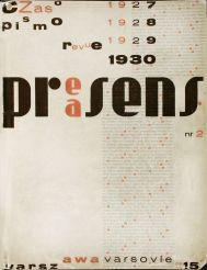 "Revista ""Praesens"", órgano de difusión del grupo, nº2, 1930, Varsovia"
