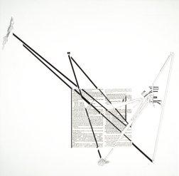 Diana Agrest, dibujo para la exposición Visionary San Francisco, 1989