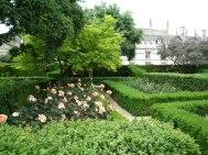 Sylvia Crowe, Jardín de rosas, Magdalen College, Oxford