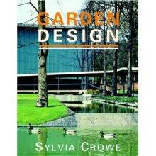 Sylvia Crowe. Tapa de libro Garden Design