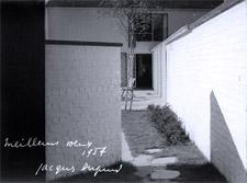 Simone Guilissen-Hoa. Casa de vacaciones Jean Wittman, Brabant Flamand, Bélgica. Archivo Jacques Dupuis