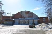 Erika Nõva (1938): Palacio de Deportes de Tallinn. Estado actual