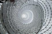 Eva Jiřičná, escalera en espiral, intervención en la Somerset House